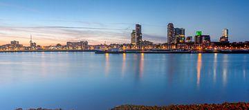 Maashaven Rotterdam panorama van Ilya Korzelius