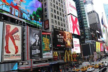 Times Square New York von Charella Hulsbosch