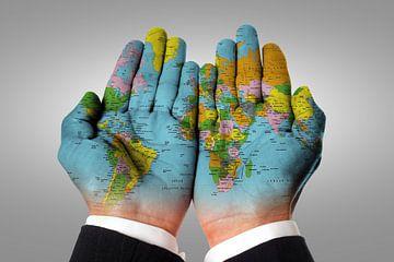 The world in your hands van Bert Hooijer