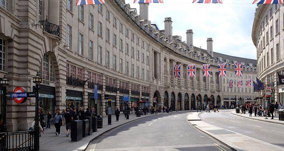 Regent Street, Piccadilly Circus, Londen, Verenigd Koninkrijk
