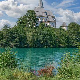 Église Maria Wörth, lac Wörthersee, Carinthie sur Peter Eckert