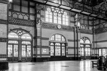 Station Groningen, Stationshal spoorzijde von Klaske Kuperus