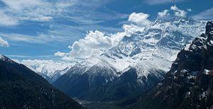 Annapurna II in de Himalaya