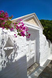 Andros-eilandchora, Cycladen, Griekenland van