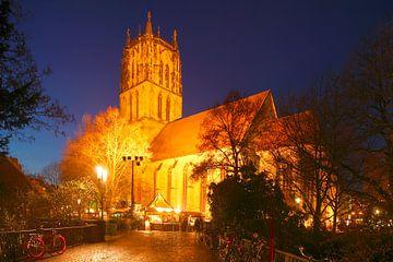 Überwasserkirche, Kirche, Weihnachtsmarkt, Münster