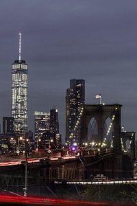 Brooklyn Bridge und das One World Trade Center