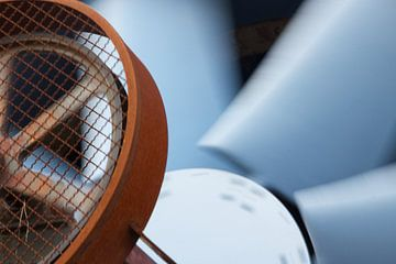 Detail van een ventilator  van