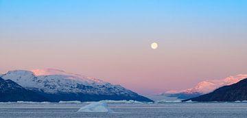 Arctic Moon van Rudy De Maeyer
