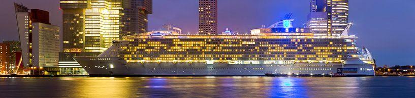 Oasis of the Seas in Rotterdam van Anton de Zeeuw