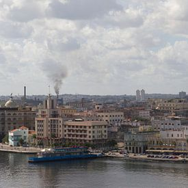 Panorama Havana stad van Rob Altena