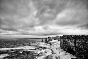Zwölf Apostel, Port Campbell Nationalpark, Great Ocean Road, Victoria, Australien von Tjeerd Kruse