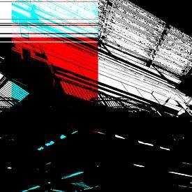 Rood en Cyaan: Het plafond van Christophe Fruyt