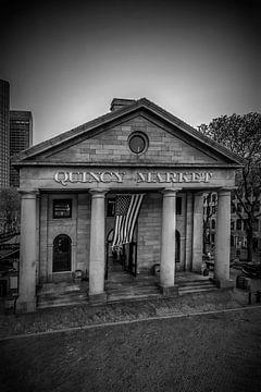 BOSTON Quincy Market | Monochrom von Melanie Viola
