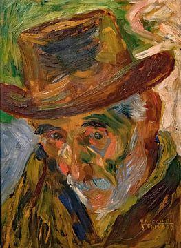 Umberto Boccioni, Kopf eines alten Mannes - 1909 von Atelier Liesjes