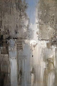 Ein regnerischer Tag in New York von Rudy & Gisela Schlechter