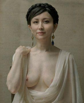 Portrait einer jungen Dame, Fuyuki Hattori von 1x