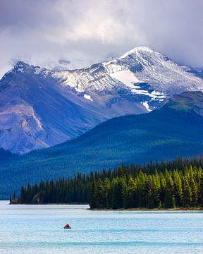 Maligne Lake in Jasper N.P., Alberta, Kanada