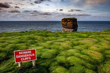 Gefährliches Kliff von Michael Karl Knop