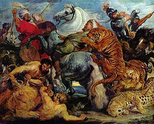 Die Tigerjagd, Peter Paul Rubens