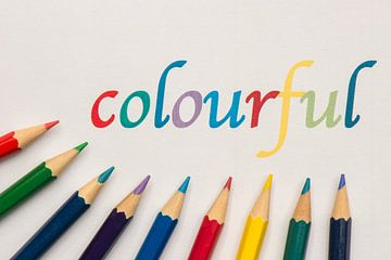 Kleurrijk   van Tonko Oosterink