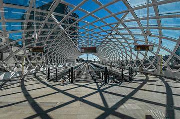 Metrostation Den Haag Centraal von Rinus Lasschuyt Fotografie