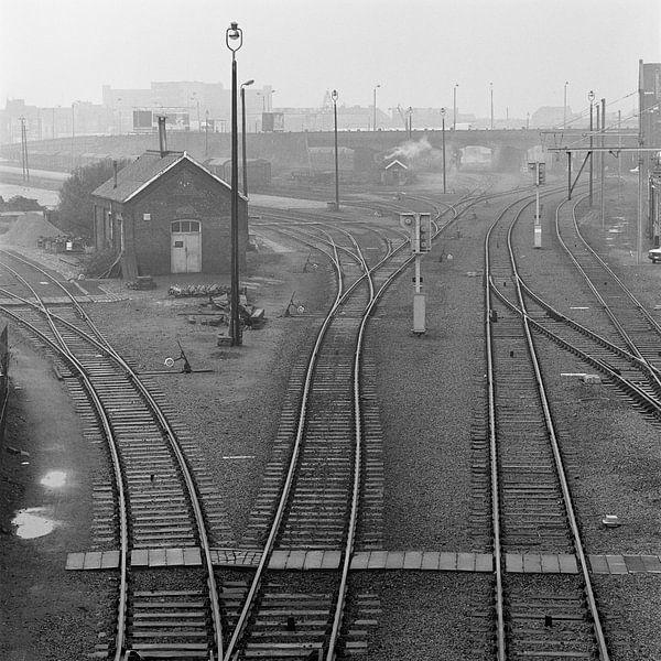 Omgeving Centraal Station Antwerpen van Raoul Suermondt