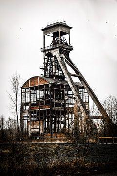 Industriële wand decoratie van Remke Kwant