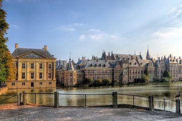 Hofvijver Binnenhof Den Haag sur Watze D. de Haan