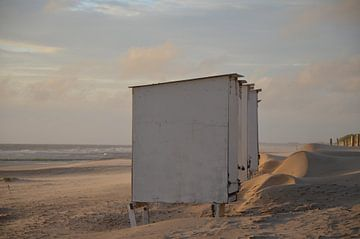 Strandhuisjes van Corinna Vollertsen