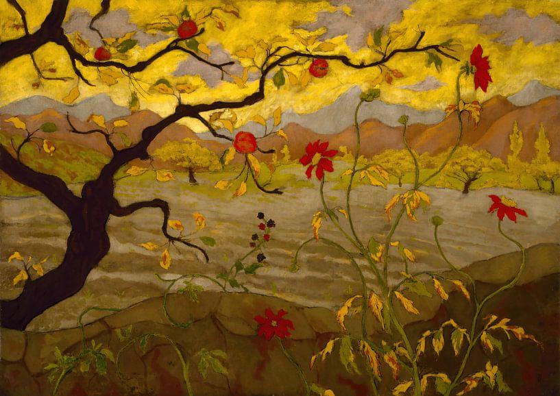 Paul Elie Ranson-Apple Tree with Red Fruit van finemasterpiece
