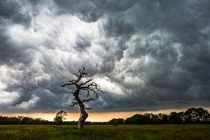 Onheilspellende onweersbui van Andre Brasse Photography