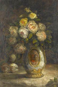 Hüseyin Zekai Pascha~Stilleben mit Rosen