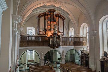 Oehninger-orgel - Klosterkirche Sankt Antonius, Worbis (duitsland) van