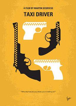 No087 My Taxi Driver minimal movie poster van Chungkong Art