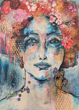 Blau von Caroline Jacobs