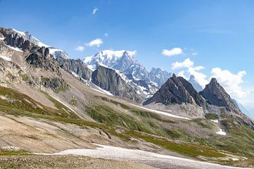 Blick auf den Mont Blanc von Martijn Joosse