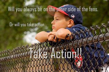 """Inspiration """"Baseball action"""" van henrie Geertsma"""