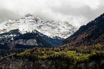 Landschaft in der Schweiz von Yvette Baur