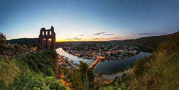 Traben-Trarbach Sonnenuntergang von Frank Herrmann