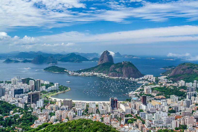 Pain de sucre montagne Rio de Janeiro sur Jan van Dasler