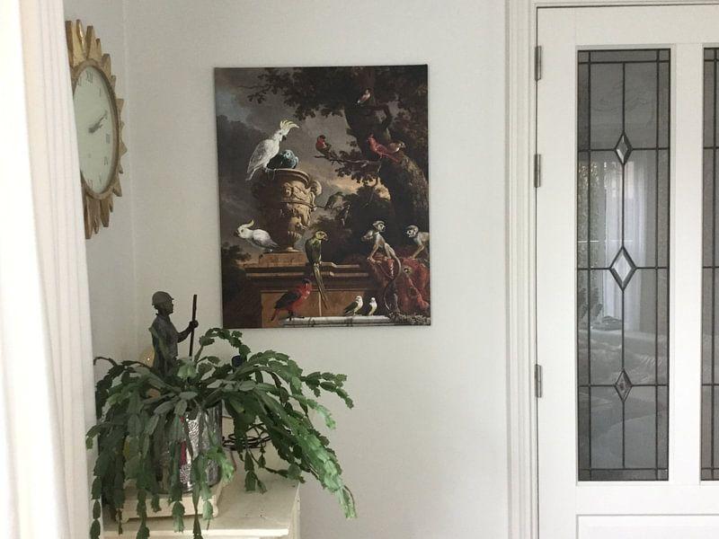 Kundenfoto: De menagerie, Melchior d'Hondecoeter