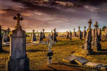 Begraafplaats Belgie van Marcel van Berkel