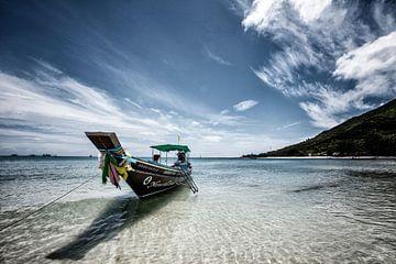 Tropischer Urlaub Urlaub Tourismus Strand von Tjeerd Kruse