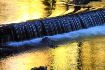 golden waterfall - gouden waterval van lieve maréchal