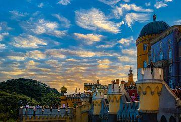 Palácio da Pena, Sintra Portugal sur Nynke Altenburg