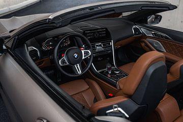 BMW M8 Competition Cabriolet Interieur van Jarno Lammers