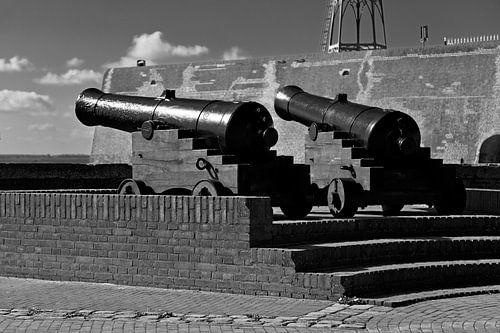 Kanonnen in Vlissingen van