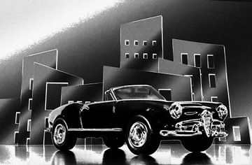 CUORE SPORTIVO - Alfa Spider anno 1962 van Jean-Louis Glineur alias DeVerviers