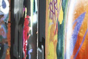 Graffiti van Agnes Meijer