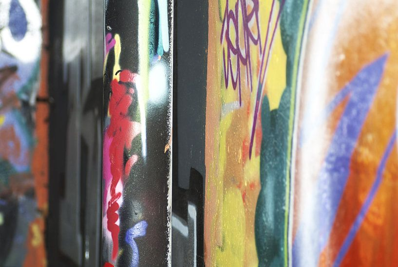 Graffiti von Agnes Meijer